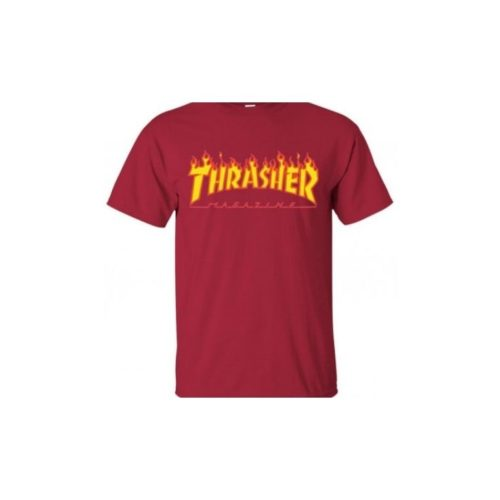 Camiseta Thrasher Flame Granate
