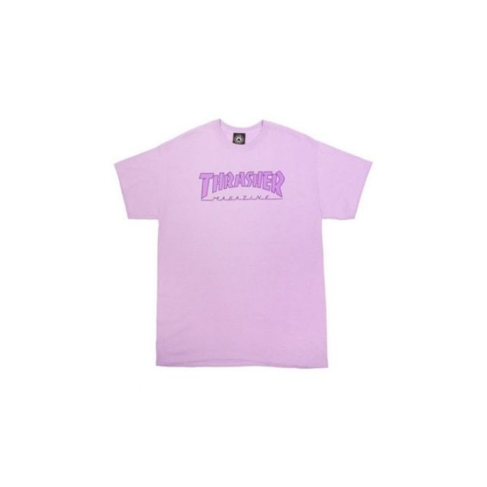 Camiseta Thrasher Outlined Orchid